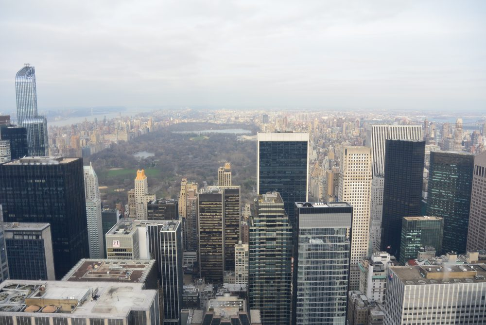 View by day Rockefeller Center