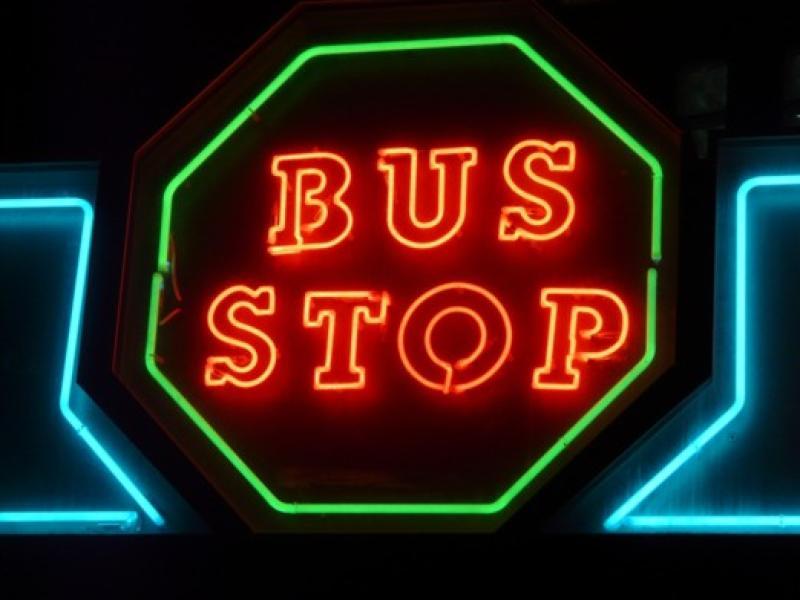 Bus stop Salou