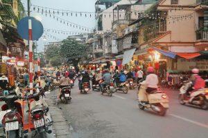 Hanoi - verkeer
