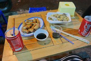 Hanoi - avondeten