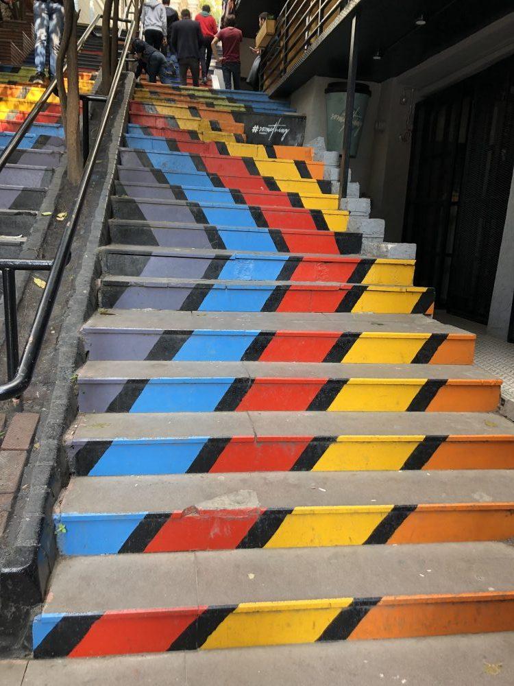 Stairs Galata Tower
